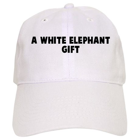 White Elephant Gift Exchange At Wedding : white_elephant_gift_cap.jpg?color=White&height=460&width=460&qv=90