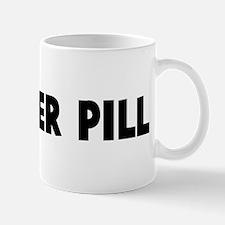 A bitter pill Mug