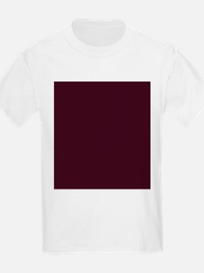 wine red burgundy plum T-Shirt