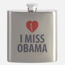 I Miss Obama Flask