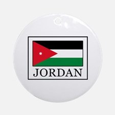 Jordan Round Ornament
