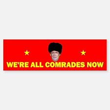 Comrade Trump (bumper) Bumper Bumper Bumper Sticker