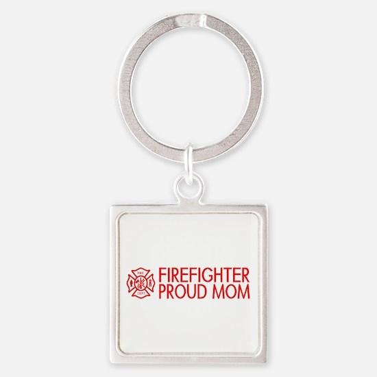 Firefighter: Proud Mom (Florian Cross) Keychains
