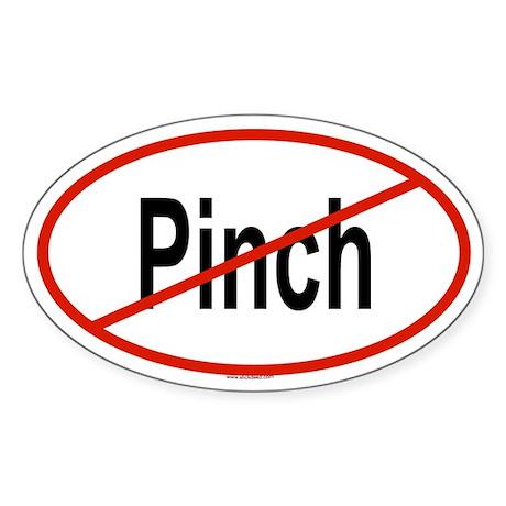 PINCH Oval Sticker