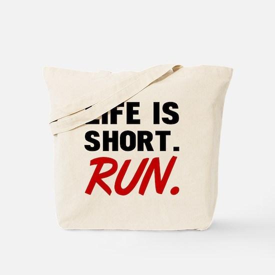 Cute Short run Tote Bag
