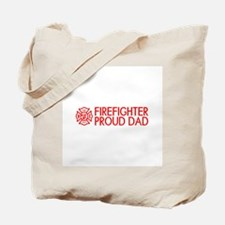 Firefighter: Proud Dad (Florian Cross) Tote Bag