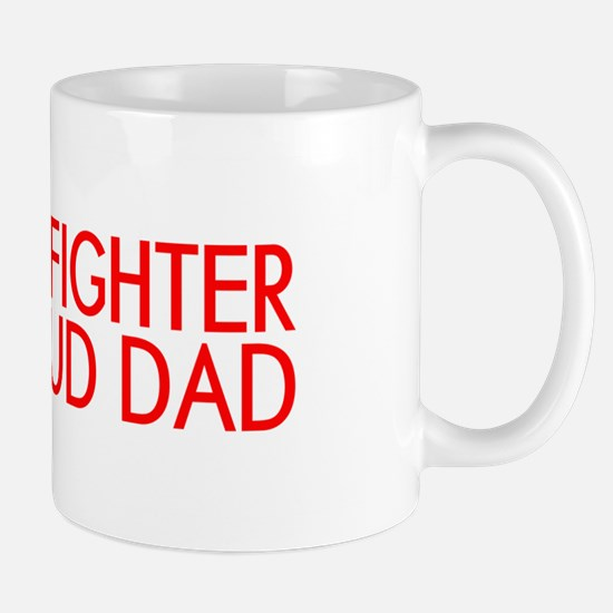 Firefighter: Proud Dad (Florian Cross) Mug