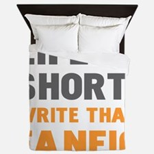 Cool Fan fiction Queen Duvet