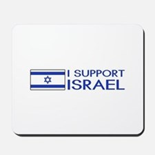 I Support Israel (White) Mousepad