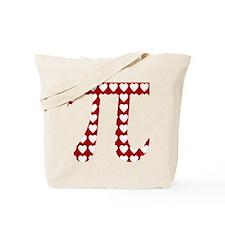 Valentine Pi Tote Bag