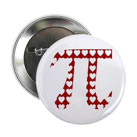 "Valentine Pi 2.25"" Button"