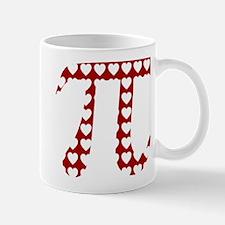 Valentine Pi Mug