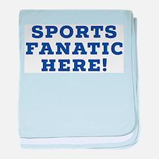 Sports Fanatic baby blanket