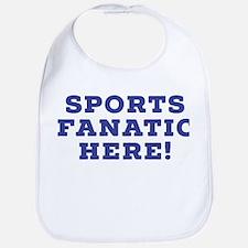 Sports Fanatic Baby Bib