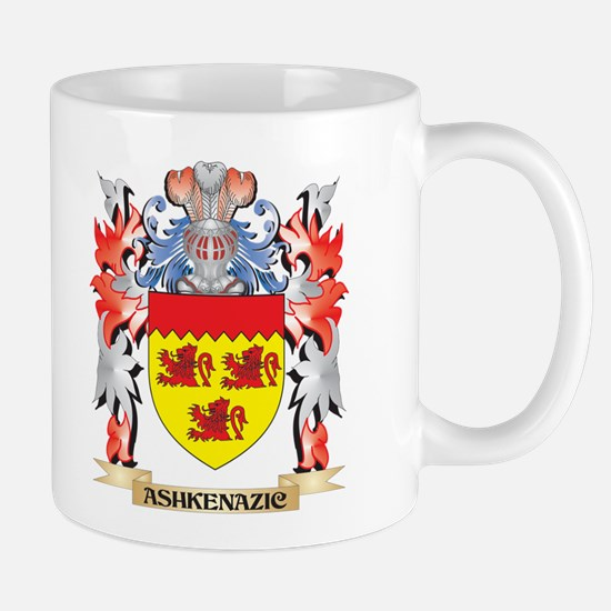 Ashkenazic Coat of Arms - Family Crest Mugs