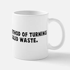 Bureaucracy a method of turni Mug