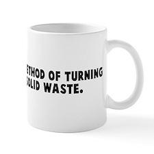 Bureaucracy a method of turni Small Mug