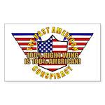 Amercian VRWC Rectangle Sticker