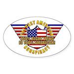 Amercian VRWC Oval Sticker