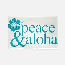Peace & Aloha Hawaii Magnets