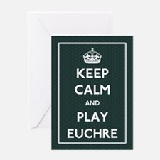 Euchre Greeting Cards