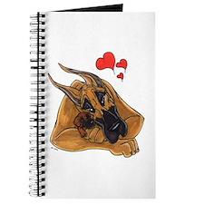 Fawn III Great Dane Motherlove Notepad