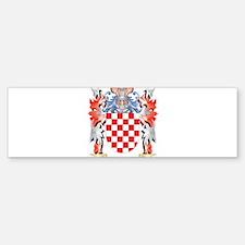 Bachman Coat of Arms - Family Crest Bumper Bumper Bumper Sticker