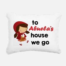 Funny Red riding hood Rectangular Canvas Pillow
