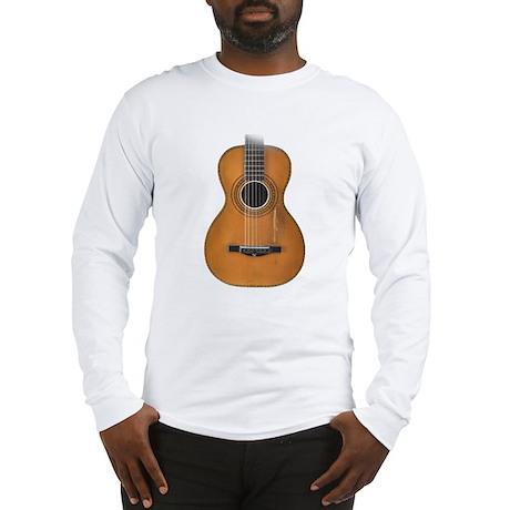 Vintage Parlor Guitar Long Sleeve T-Shirt
