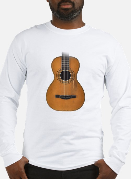 Vintage Parlor Guitar Long Sleeve T-Shirt