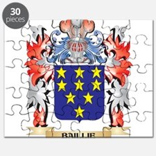 Baillie Coat of Arms - Family Crest Puzzle