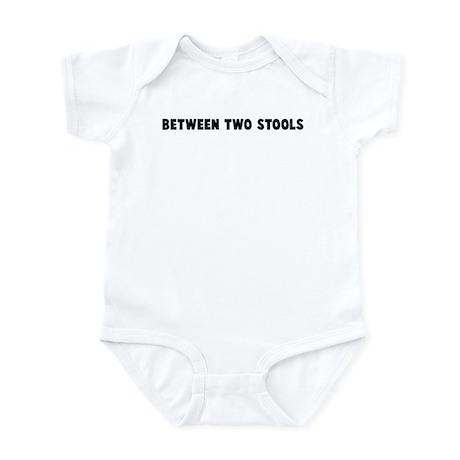 Between two stools Infant Bodysuit