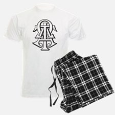 Alpha Tau Omega ATO Letters Pajamas