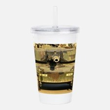 M1A1 Main Battle Tank Acrylic Double-wall Tumbler