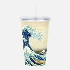 The Great Wave off Kan Acrylic Double-wall Tumbler