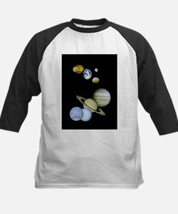 Our Solar System Montage Ornament Baseball Jersey