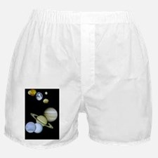 Our Solar System Montage Ornament Boxer Shorts