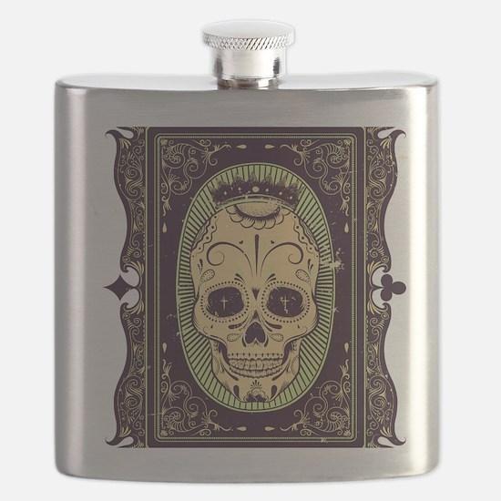 Cute Body art Flask