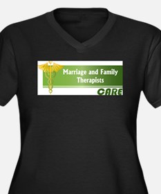 Marriage and Family Therapists Care Plus Size T-Sh