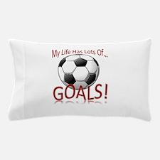 Life GOALS Pillow Case