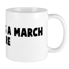As mad as a march hare Mug