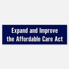 Save The Affordable Care Act Bumper Bumper Bumper Sticker
