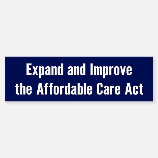Save The Affordable Care Act Bumper Bumper Bumper Sticker