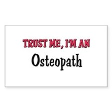 Trust Me I'm an Osteopath Rectangle Decal