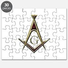 Masonic Square & Compass Puzzle