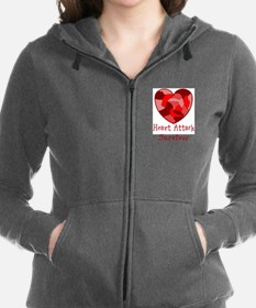 Heart Attack Survivor Sweatshirt