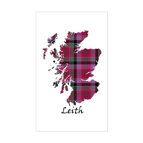 Map - Leith Sticker (Rectangle)