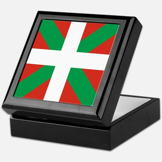 Basque Country: Euskaldun Flag Keepsake Box