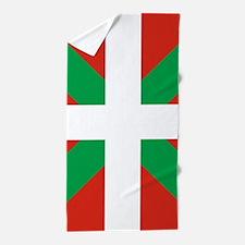 Basque Country: Euskaldun Flag Beach Towel