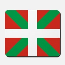 Basque Country: Euskaldun Flag Mousepad
